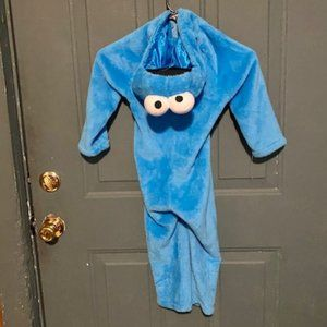 Sesame Street Cookie Monster Costume Size 3T-4T